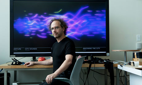 Tod Machover at the Massachusetts Institute of Technology. Photograph: Jean-Claude Dhien/Corbis Outline